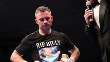 Carl Frampton paid tribute to his old mentor after the fight.