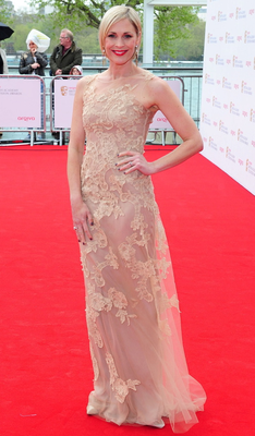 Jenni Falconer arriving for the 2013 Arqiva British Academy Television Awards at the Royal Festival Hall, London. PRESS ASSOCIATION Photo. Picture date: Sunday May 12, 2013. See PA story SHOWBIZ Bafta. Photo credit should read: Ian West/PA Wire