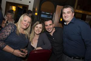 The Cloth Ear blues festival pictured  Lynne Mateer, Claire and Andrew MacArtney and Steven Mateer