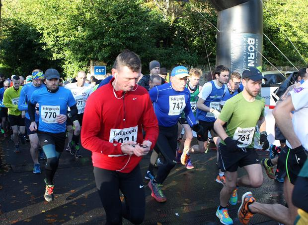Mandatory Credit - Picture by Freddie Parkinson/Press Eye © Saturday 19th November 2016 Belfast Telegraph Run Forest Run Drum Manor Forest Park, Drum Road, Cookstown BT80 9RT