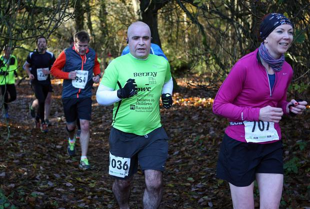 Mandatory Credit - Picture by Freddie Parkinson/Press Eye © Saturday 19th November 2016 Belfast Telegraph Run Forest Run Drum Manor Forest Park, Drum Road, Cookstown BT80 9RT Brendan Miskelly