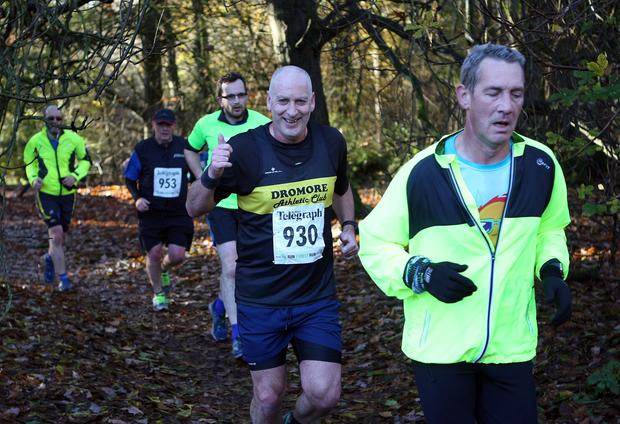 Mandatory Credit - Picture by Freddie Parkinson/Press Eye © Saturday 19th November 2016 Belfast Telegraph Run Forest Run Drum Manor Forest Park, Drum Road, Cookstown BT80 9RT RICHARD	HAND Craigavon