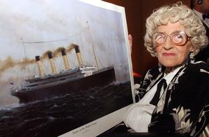 Millvina Dean was a baby of nine weeks old when the liner sank