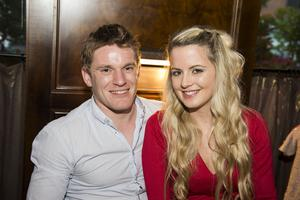 Berts Bar Jazz Festival pictured Joe McKeever and Crona Casey