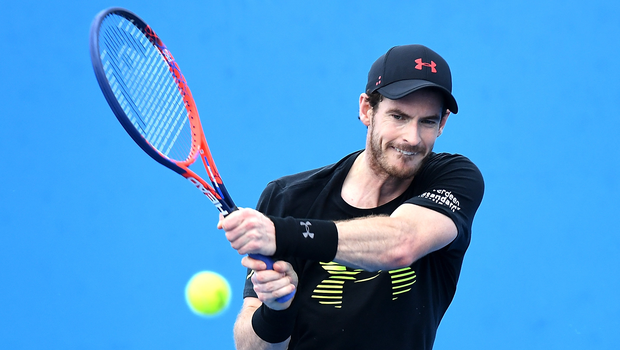 Closing in: Andy Murray is set to return in June's Libema Open