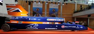 A view of the Bloodhound SSC (supersonic car). (Nick Ansell/PA Wire)