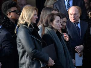 Pacemaker Press  14/1/2019 Van Morrison  during the Funeral of Dr Ian Adamson at Clonlig Presbyterian Church on Monday. A politician, medical doctor and historian, Dr Adamson served as Lord Mayor of Belfast in 1996/7, high sheriff in 2011 and was an Assembly member for the constituency of East Belfast from 1998 to 2003.  Known for his passion for culture, he founded the Ulster-Scots Language Society in 1992 and also spoke a number of other languages, including Irish.  Pic Colm Lenaghan/ Pacemaker