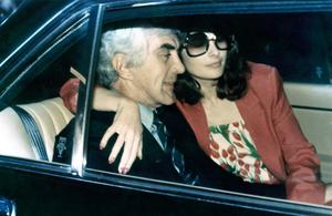John DeLorean and wife Christine Ferrare