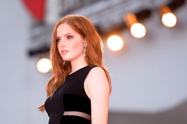 "Actress Ellie Bamber arrives for the premiere of the movie ""Nocturnal Animals"" presented in competition at the 73rd Venice Film Festival on September 2, 2016 at Venice Lido. / AFP PHOTO / FILIPPO MONTEFORTEFILIPPO MONTEFORTE/AFP/Getty Images"