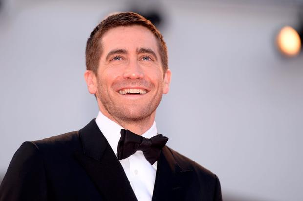 "Actor Jake Gyllenhaal arrives for the premiere of the movie ""Nocturnal Animals"" presented in competition at the 73rd Venice Film Festival on September 2, 2016 at Venice Lido. / AFP PHOTO / FILIPPO MONTEFORTEFILIPPO MONTEFORTE/AFP/Getty Images"