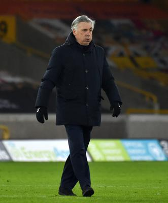 Carlo Ancelotti was impressed with how his side adapted to take victory at Molineux (Rui Vieira/PA)