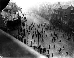 BELFAST RIOTS 1920 YORK ST - DONEGALL ST