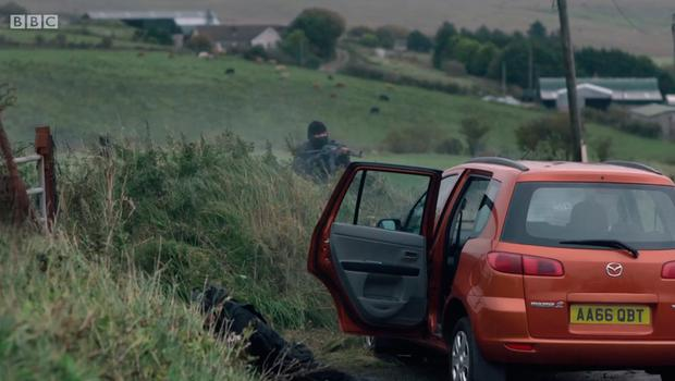 Line Of Duty location. Wheelers Road, Dundrod