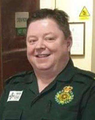 of paramedic Gerallt Davies was based at Cwmbwrla Station in Swansea (Welsh Ambulances Services NHS Trust/PA)