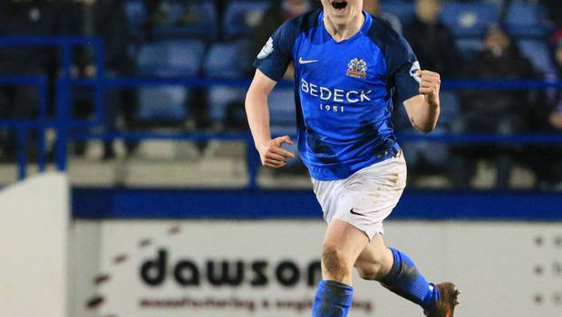 Glenavon has a special place in Bobby Burns' heart.