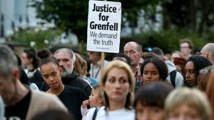 Residents of Grenfell Tower want answers (Jonathan Brady/PA)