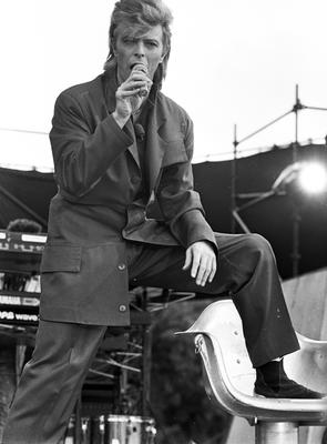 David Bowie concert at Slane 12/7/1987 Scanned from the Independent/NPA archive box 21