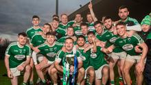 All smiles: Gaoth Dobhair celebrate with the Ulster Club title