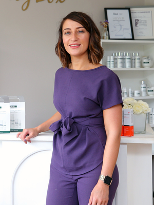 Christina Dalzell in one of her salons