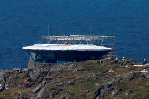 A Millennium, Falcom in Malin Head, Co Donegal Ireland, as filming for the next Star Wars movie will take place there. PA