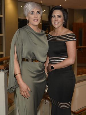 Press Eye - Belfast - Northern Ireland - 20th January  2020  Maeve and Denise McGuigan pictured at the 2019 Belfast Telegraph Sport Awards at the Crowne Plaza Hotel in Belfast. Photo by Stephen Hamilton / Press Eye.