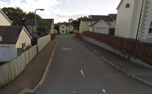 The incident happened in the Vale area of Coalisland. Pic Google