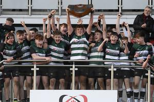 Campbell College lifted the Medallion Shield for the fifth time.