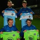 Warrenpoint have brought in four new signings to bolster their relegation battle