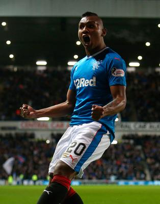 Key man: Alfredo Morelos is unlikely to leave Ibrox today