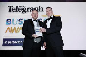 Press Eye - Belfast - Northern Ireland - 2nd May 2019 -   The Belfast Telegraph Business Awards in association with Ulster Bank at the Crowne Plaza Hotel, Belfast.    Photo by Kelvin Boyes / Press Eye.