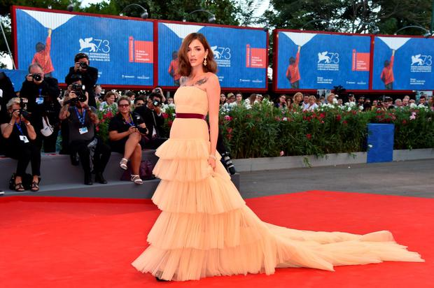 VENICE, ITALY - SEPTEMBER 01:  Eleonora Carisi attends the premiere of 'The Light Between Oceans' during the 73rd Venice Film Festival at Sala Grande on September 2, 2016 in Venice, Italy.  (Photo by Pascal Le Segretain/Getty Images)