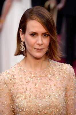 HOLLYWOOD, CA - MARCH 02:  Actress Sarah Paulson attends the Oscars held at Hollywood & Highland Center on March 2, 2014 in Hollywood, California.  (Photo by Kevork Djansezian/Getty Images)