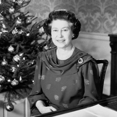 File photo dated 23/12/1987 of The Queen making her traditional Christmas Day address to the nation and the Commonwealth as she turns 90 on the April 21st.