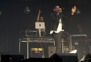 Labrinth on stage at Cool FM's Jingle Ball in the Odyssey Arena in Belfast  Picture Credit : Kevin Scott / Belfast Telegraph