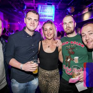 26 Dec 2019 People out at Limelight on Boxing night for Bingo Loco. (Liam McBurney/RAZORPIX)