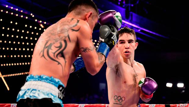 On the up: Michael Conlan