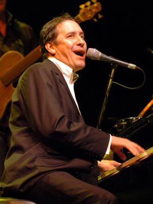 Piano man: Jools Holland