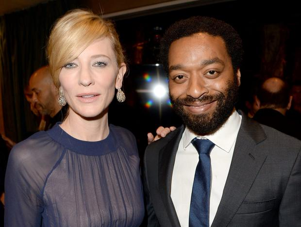 Cate Blanchett (Blue Jasmine) and Chiwetel Ejiofor (12 Years A Slave) are the favourites to win the Best Actress and Actor Oscars (Photo by Jason Merritt/Getty Images for AACTA)