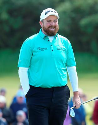 NEWCASTLE, NORTHERN IRELAND - MAY 29:  Shane Lowry of Ireland smiles on the 9th green during the Second Round of the Dubai Duty Free Irish Open Hosted by the Rory Foundation at Royal County Down Golf Club on May 29, 2015 in Newcastle, Northern Ireland.  (Photo by Andrew Redington/Getty Images)