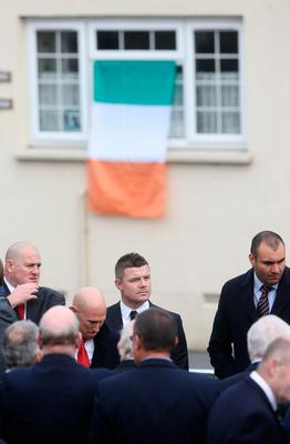 Anthony Foley left 'indelible, affirming marks', mourners told at funeral for rugby great
