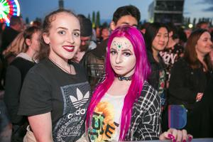 Fans out to see MUSE with support act Biffy Clyro at Belfast Vital. Wednesday 23rd August 217. Picture by Liam McBurney/RAZORPIX