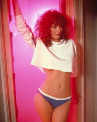 Iconcic: Le Brock in 1980s sci-fi hit Weird Science.