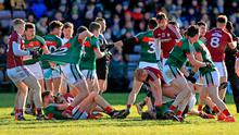 Flashpoint: tempers flare between Galway and Mayo but Galway boss Kevin Walsh says he missed it