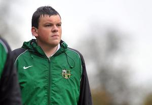 Sandy Hill manager Conor Corvan