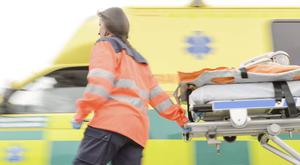 The Northern Ireland Ambulance Service said the situation was the result of staff shortages. (stock photo)
