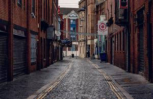 Gordon Street at lunchtime in city centre Belfast. Pic Kevin Scott