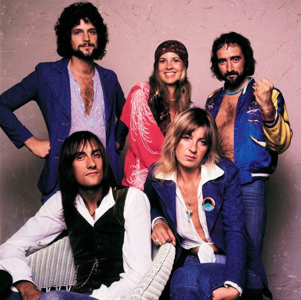 The band in 1975