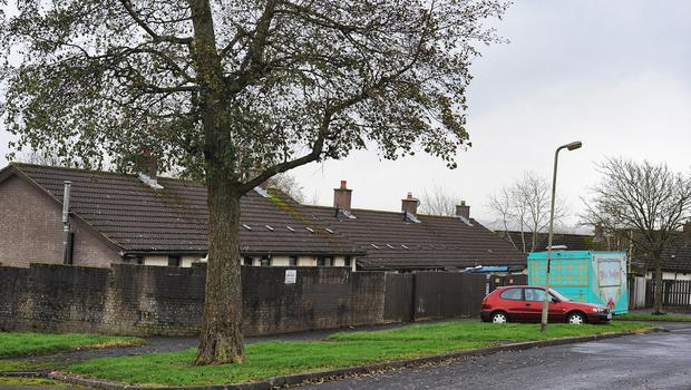Dunluce Court area in Ballymagroarty in Derry where a man was shot. Credit: Martin McKeown
