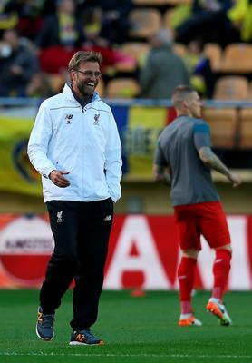 Liverpool manager Jurgen Klopp during the UEFA Europa League Semi Final, First Leg match at Estadio El Madrigal, Villarreal. PRESS ASSOCIATION Photo. Picture date: Thursday April 28, 2016. See PA story SOCCER Villarreal. Photo credit should read: Adam Davy/PA Wire