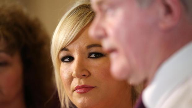 FILE PICTURE Press Eye - Belfast - Northern Ireland - 24th May 2016 -  Michelle O'NeilL is pictured at Parliament Buildings, Stormont  Photo by Kelvin Boyes / Press Eye.